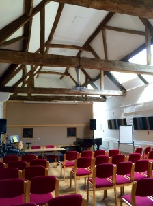 The old Barn--now a music recording studio